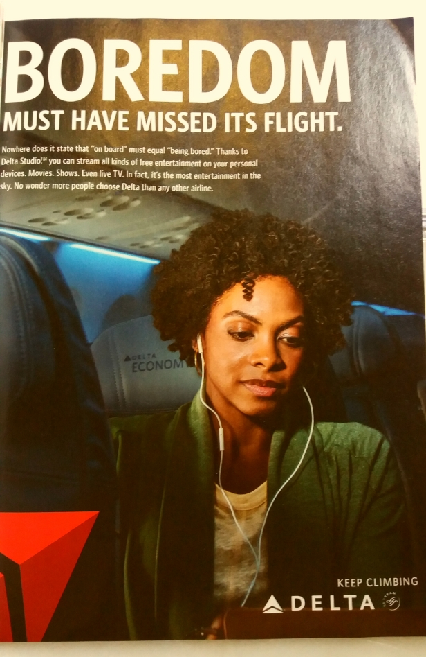 In-flight entertainment has a new name and that's Delta.